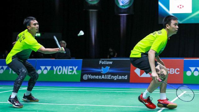 Thailand Open: Ahsan/Hendra Tembus Perempat Final Usai Hajar Wakil India (14223)