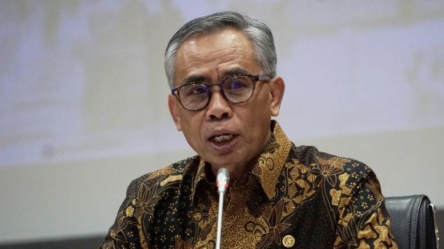 Ketua OJK Dorong Merger Bank Syariah Milik Perbankan BUMN (17041)