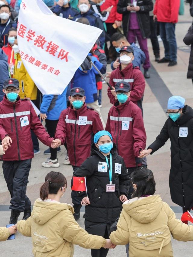 PTR-Rumah Sakit Sementara di Wuhan