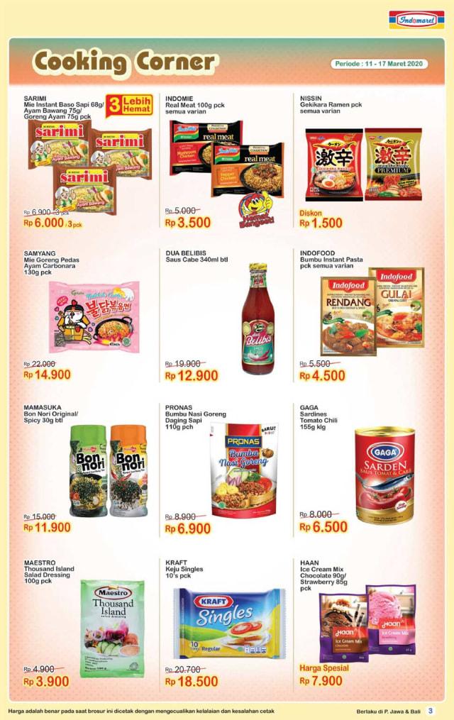 Info Promo Minggu Ini Indomaret Tawarkan Produk Makanan Beli 2 Gratis 1 Kumparan Com