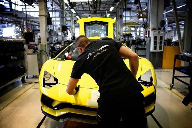 Produksi mobil Lamborghini