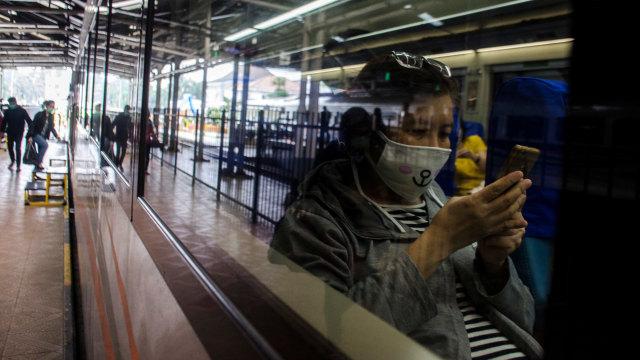 KAI Daop 1 Jakarta Hanya Operasikan 7 KA Selama Larangan Mudik 2021 (43343)
