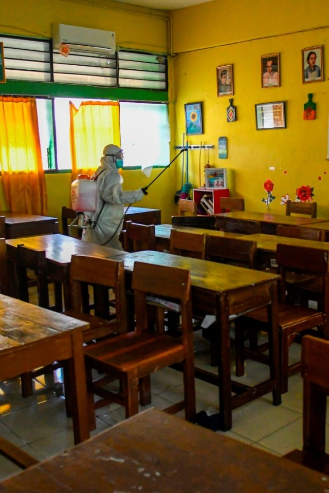 PTR, Antisipasi penyebaran Covid-19 di Sekolah, corona