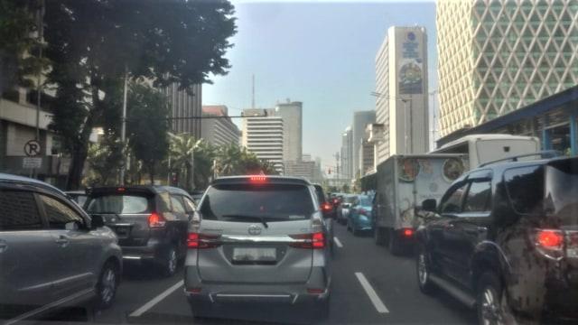 Arus lalu lintas di Thamrin