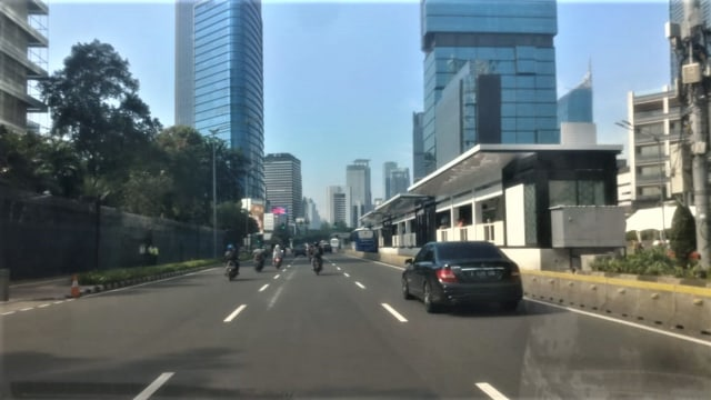 Arus lalu lintas di Sudirman