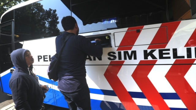 Jadwal SIM Keliling dan Gerai SIM di Jakarta, Sabtu 9 Januari 2021 (127538)