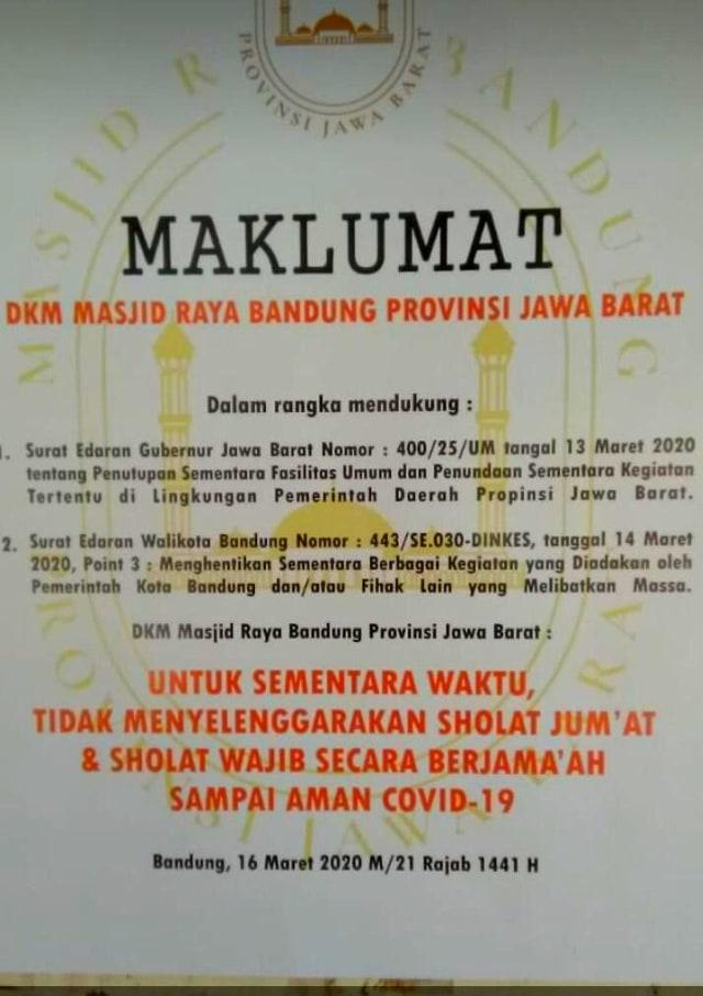 Viral Massa Teriak Jihad Copot Spanduk Tak Gelar Jumatan di Masjid Raya Bandung (852111)