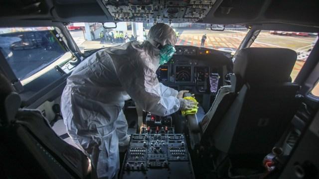 Pemberishan pesawat Lion Air's Boeing 737-800