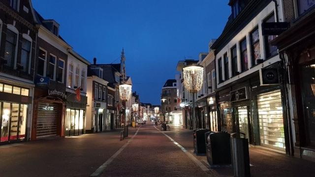 Suasana di Amersfoort, Belanda.