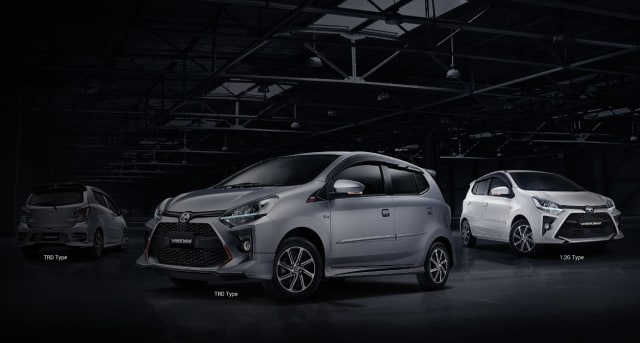 Murah Mana, Sewa Toyota Agya dari Kinto atau Beli Secara Kredit? (72840)