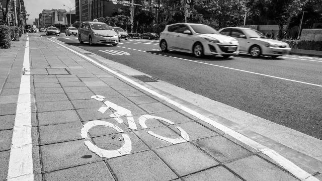 Ilustras jalur sepeda
