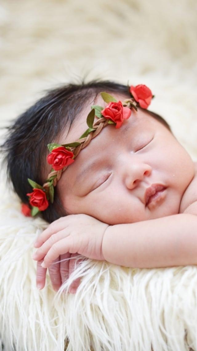 PTR - Ilustrasi bayi perempuan