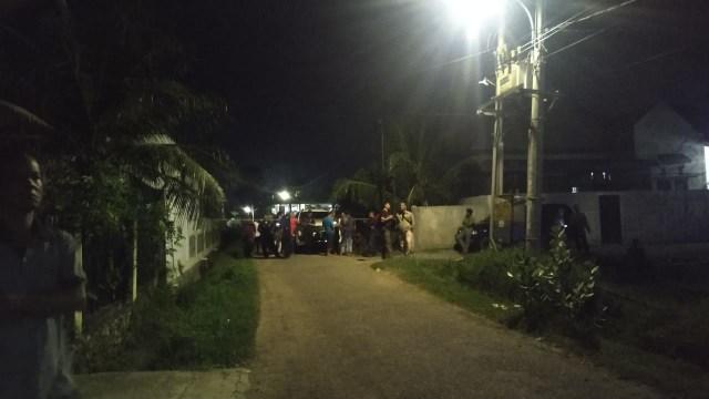 Rumah Pribadi Kepala ULP Setda Aceh Digranat Orang Tak Dikenal (220809)