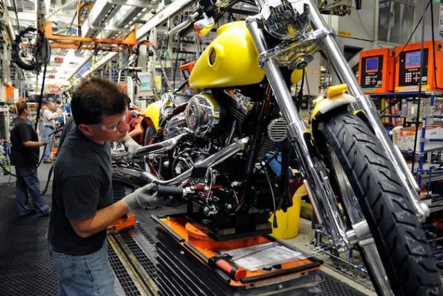 Otomotif, Corona, Harley Davidson, moge, Amerika Serikat