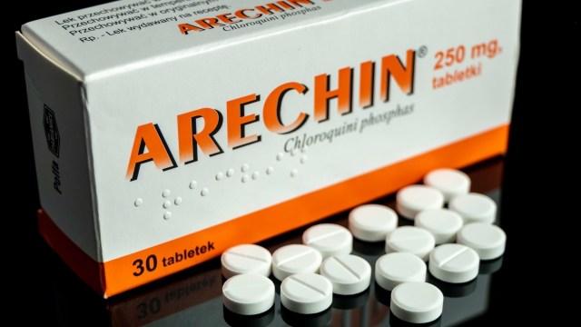 SQUARE- Polemik obat corona klorokuin