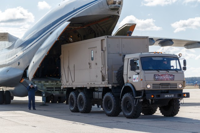 Vladimir Putin kerahkan militer ke Italia