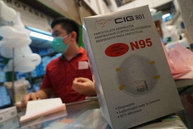 Masker N95 yang dijual di Pasar Pramuka. Foto Helmi Afandi Abdullah, kumparan.jpg