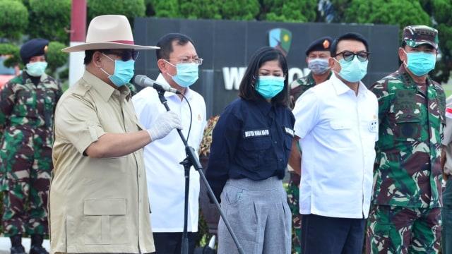Terawan dampingi Prabowo