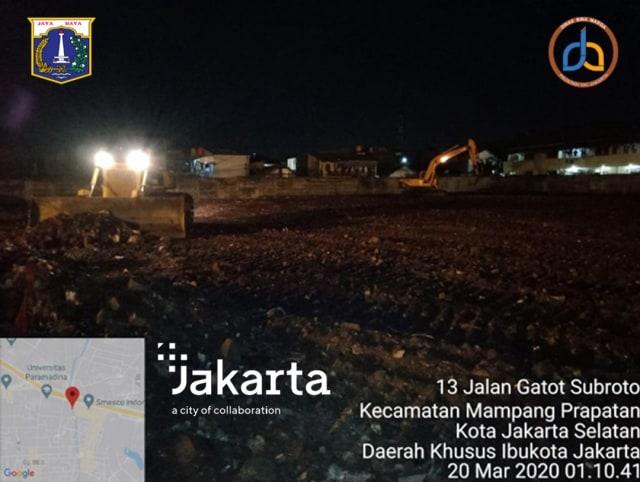 Pemprov DKI Sediakan Lahan di Gatot Subroto untuk Gudang Medis Terkait Corona (24116)