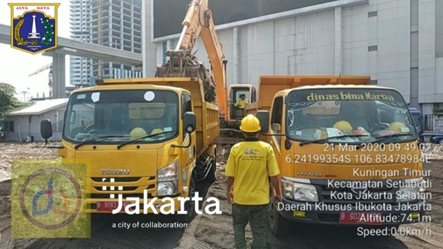Pemprov DKI Sediakan Lahan di Gatot Subroto untuk Gudang Medis Terkait Corona (24115)