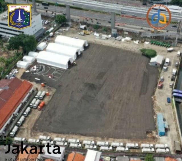 Pemprov DKI Sediakan Lahan di Gatot Subroto untuk Gudang Medis Terkait Corona (24113)