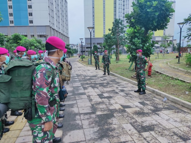 Batalyon Kesehatan Marinir, Wisma Kemayoran