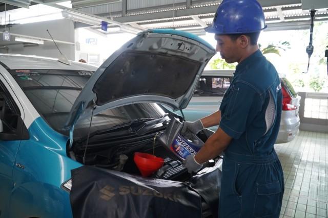 Bengkel Resmi Suzuki Buka hingga Malam Selama PSBB Transisi (14609)