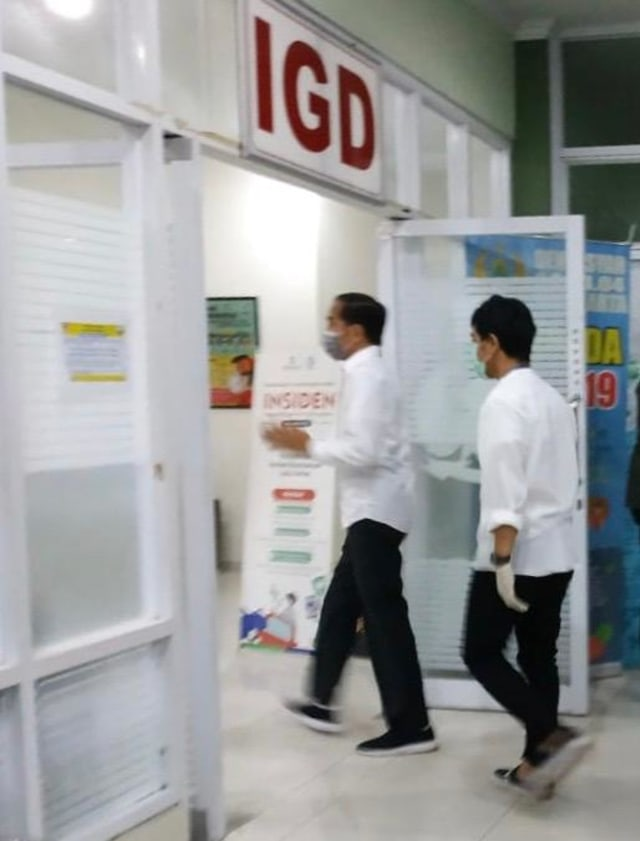 Jokowi Bicara Penyebab Meninggalnya Ibunda: Sudah 4 Tahun Sakit Kanker (58715)