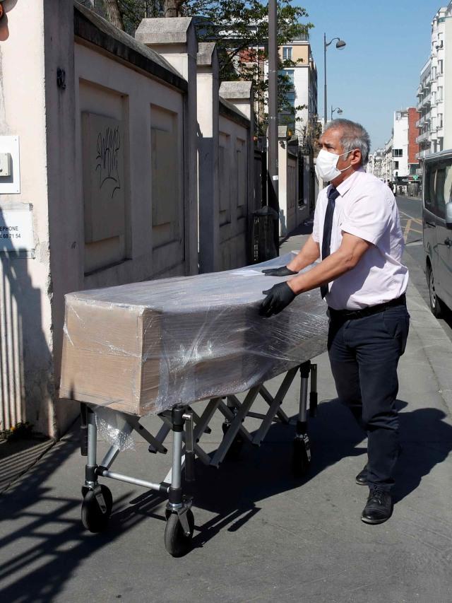 PTR- Virus corona- peti mati di Prancis