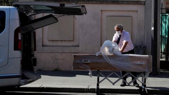 Virus corona- peti mati di Prancis