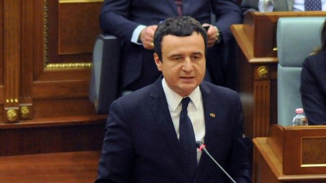 Perdana Menteri Kosovo, Albin Kurti