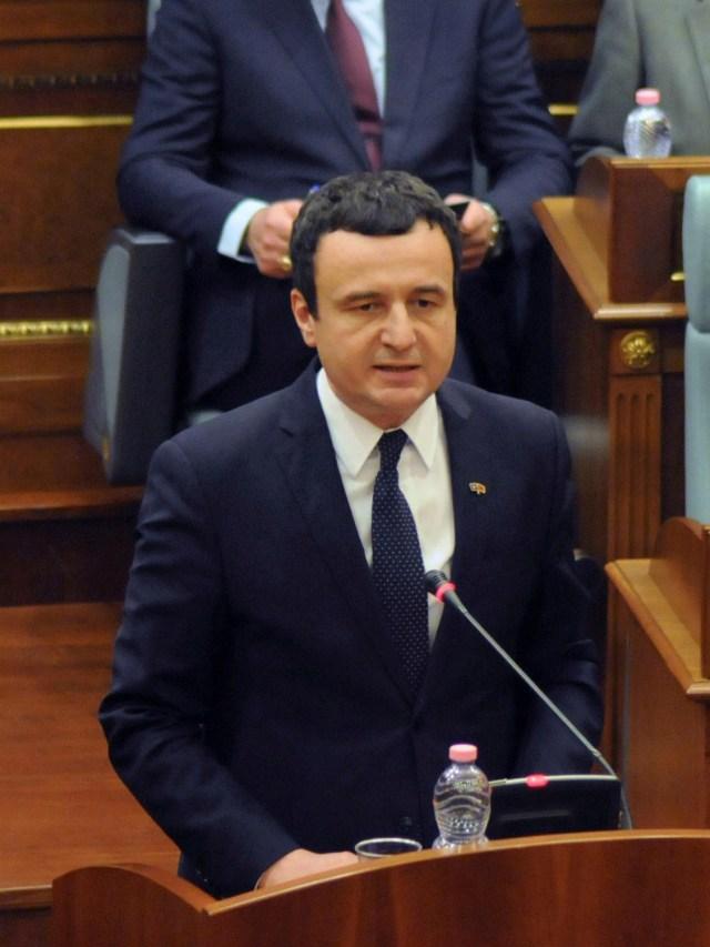 PTR- Perdana Menteri Kosovo, Albin Kurti