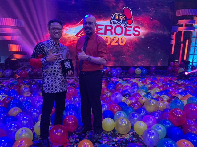 Sandi Octa Susila- Alumni IPB Jadi Duta Petani Milenial dalam Kick Andy Heroes (102012)