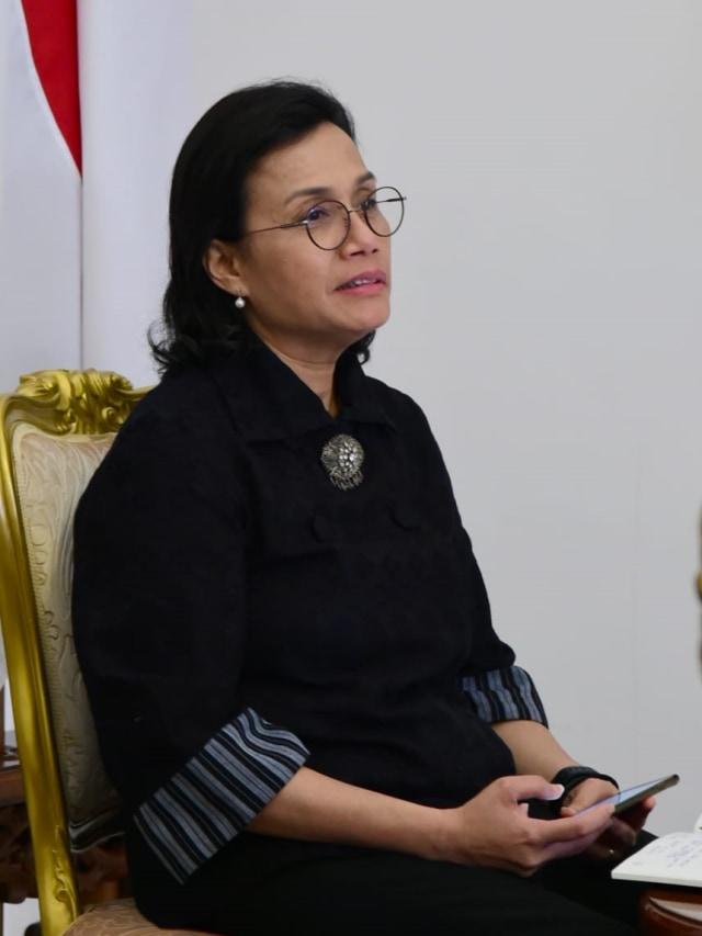 PTR- Sri Mulyani ikuti KTT LB G20 dari Istana Bogor