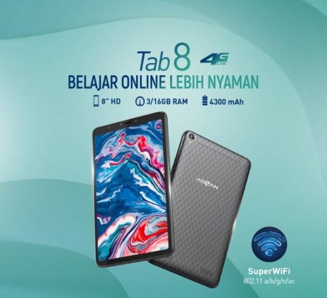 Harga dan Spesifikasi Tablet Advan Tab 8 (534587)