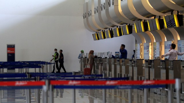 Penumpang Turun Drastis, Bandara Juanda Pindahkan Penerbangan dari T2 ke T1 (78828)