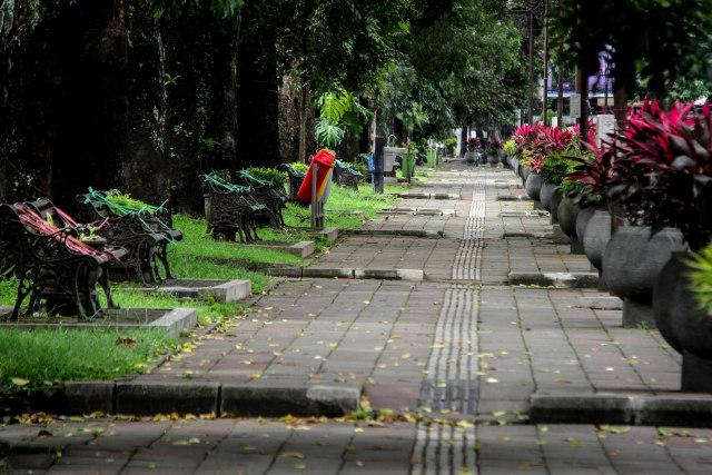 Jalan Ijen Malang Jadi Area Physical Distancing (148594)