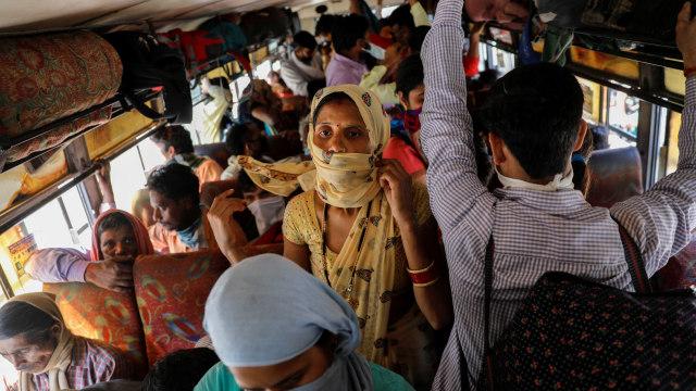 India Sulap Gerbong Kereta Jadi Ruang Isolasi Pasien Virus Corona  (459783)