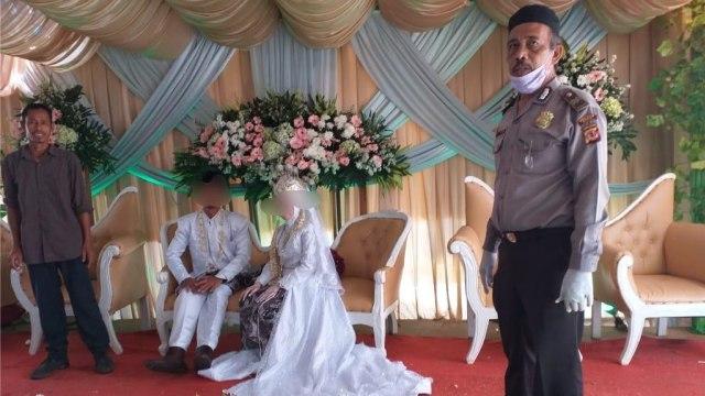 Resepsi Pernikahan di Kp Babakan Jengkol, Bogor, Dibubarkan Polisi (862851)