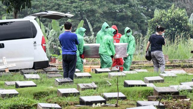Pemakaman Jenazah Korban Corona