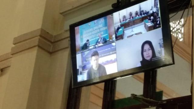 Sidang Digelar Online, Istri Hakim PN Medan Didakwa Lakukan Pembunuhan Berencana (445)
