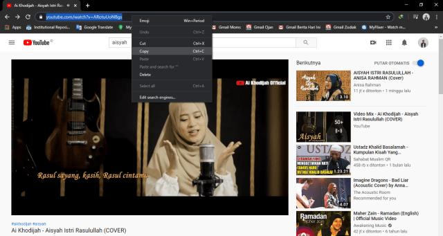 Cara Mengubah Video mp4 ke mp3 dari Youtube 2