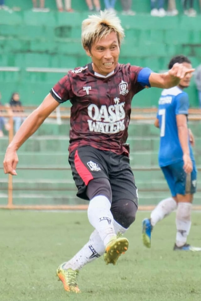 Asri Akbar, pemain Persijap Jepara. PTR