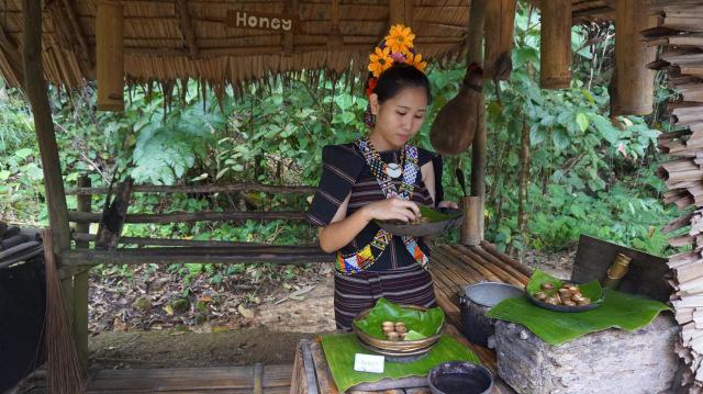 Serunya Berwisata Sambil Belajar Kebudayaan di Mari Mari Culture Village, Sabah (77058)