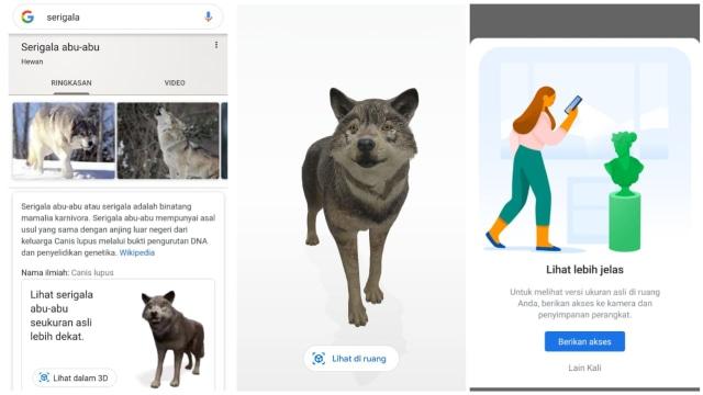 Cara Tampilkan Hewan 3D di Google Search Pakai HP Android dan iPhone (574076)