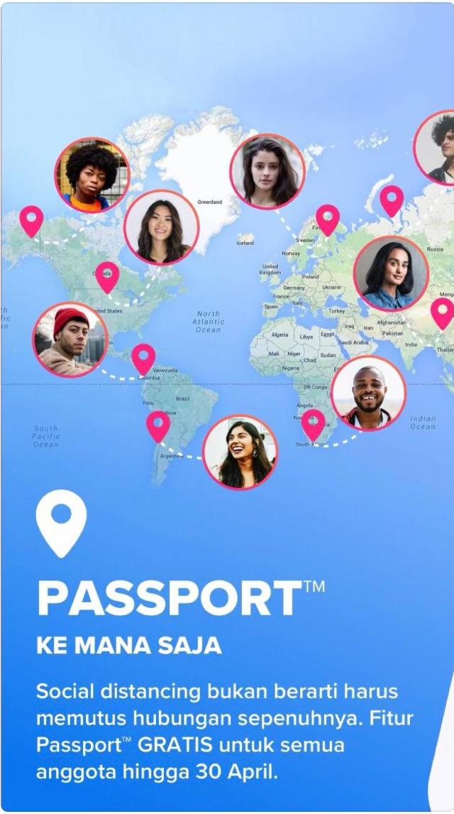 Tinder Gratiskan Fitur Passport, Bisa Cari Gebetan Beda Negara (4780)