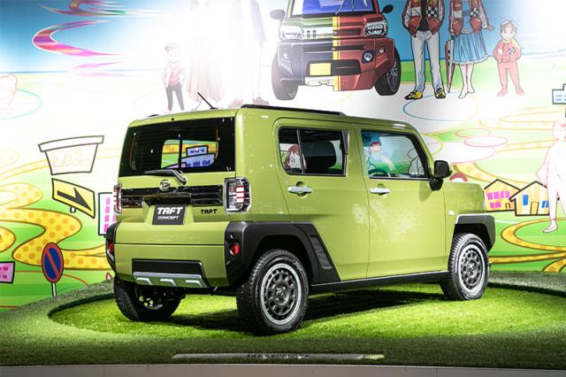 Foto: Detail Daihatsu Taft Concept 2020, Alternatif Baru Selain Jimny (33123)