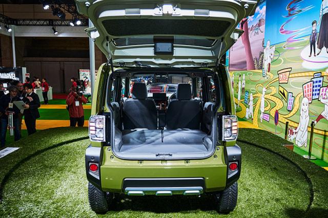 Foto: Detail Daihatsu Taft Concept 2020, Alternatif Baru Selain Jimny (33147)