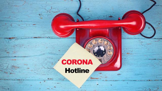 COVID Section 1-Ilustrasi Hotline corona