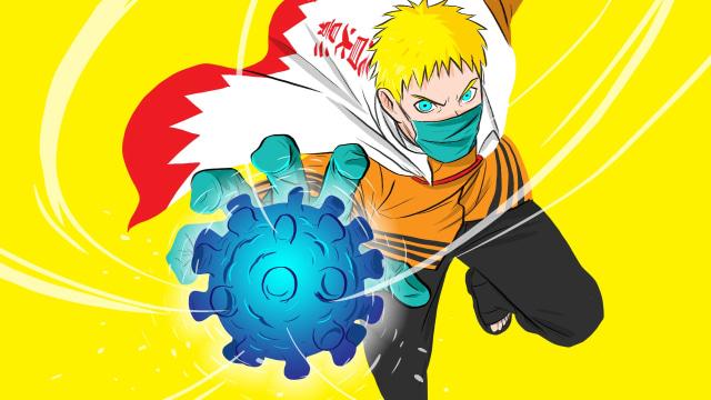 Jurus Hokage Naruto Menghadapi Invasi Corona Di Desa Konoha Kumparan Com